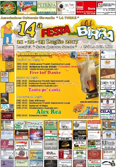 Festa della Birra loc. Selva Quattro strade @ Isola del Liri | Isola del Liri | Lazio | Italia