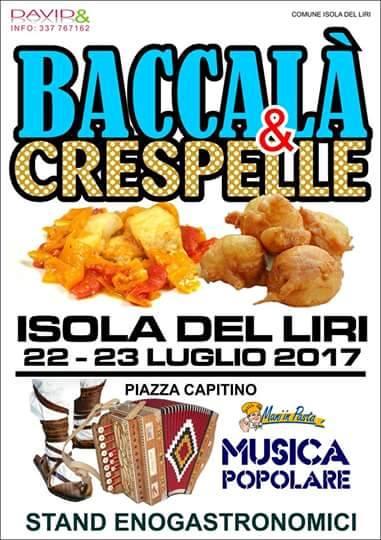 Sagra del baccalà e crespelle @ Isola del Liri | Isola del Liri | Lazio | Italia