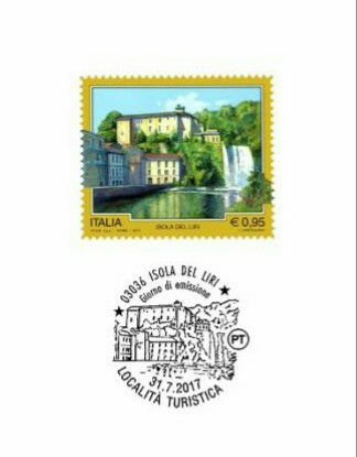 Emissione francobollo per Isola del Liri