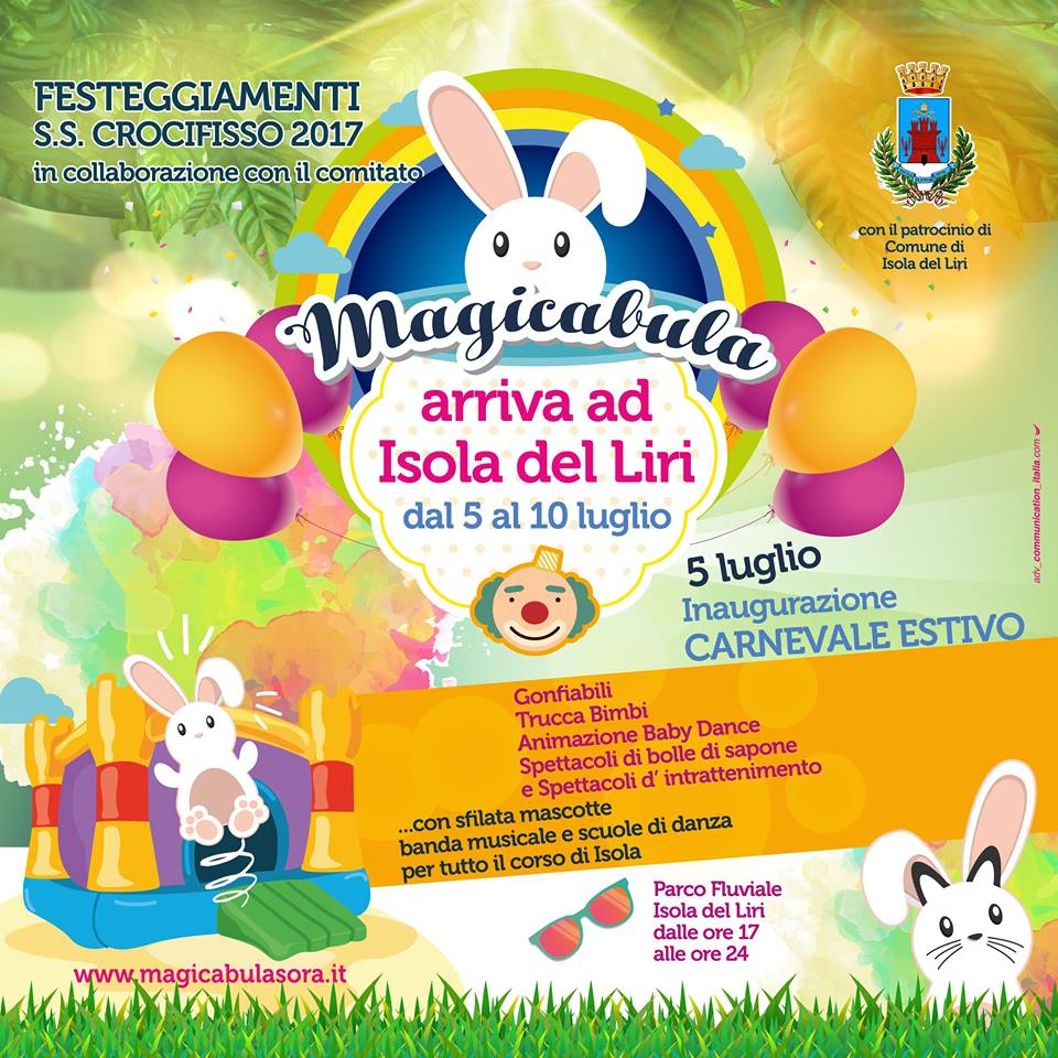 Giochi gonfiabili per bambini @ Ore 17.00 alle ore 24.00 | Isola del Liri | Lazio | Italia