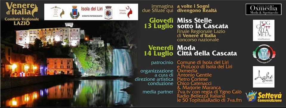 Miss Stelle sotto la Cascata - 5^ edizione @ Isola del Liri | Isola del Liri | Lazio | Italia