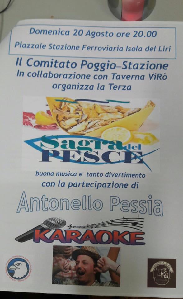 3^ Sagra del Pesce fritto @ Isola del Liri | Isola del Liri | Lazio | Italia