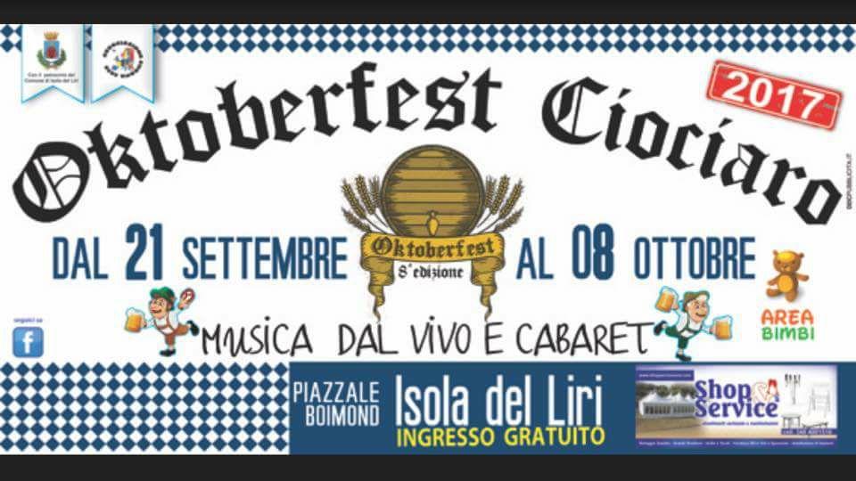Oktoberfest ciociaro @ Isola del Liri | Isola del Liri | Lazio | Italia