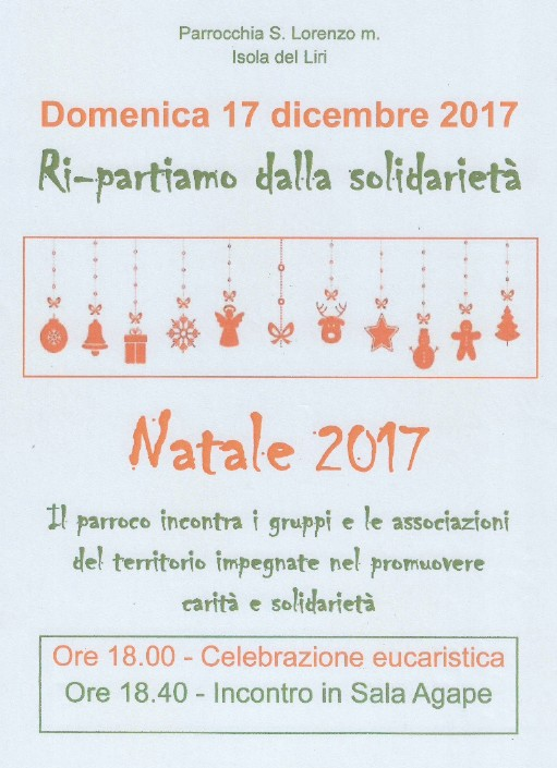 Ri-partiamo dalla solidarietà @ Isola del Liri | Isola del Liri | Lazio | Italia