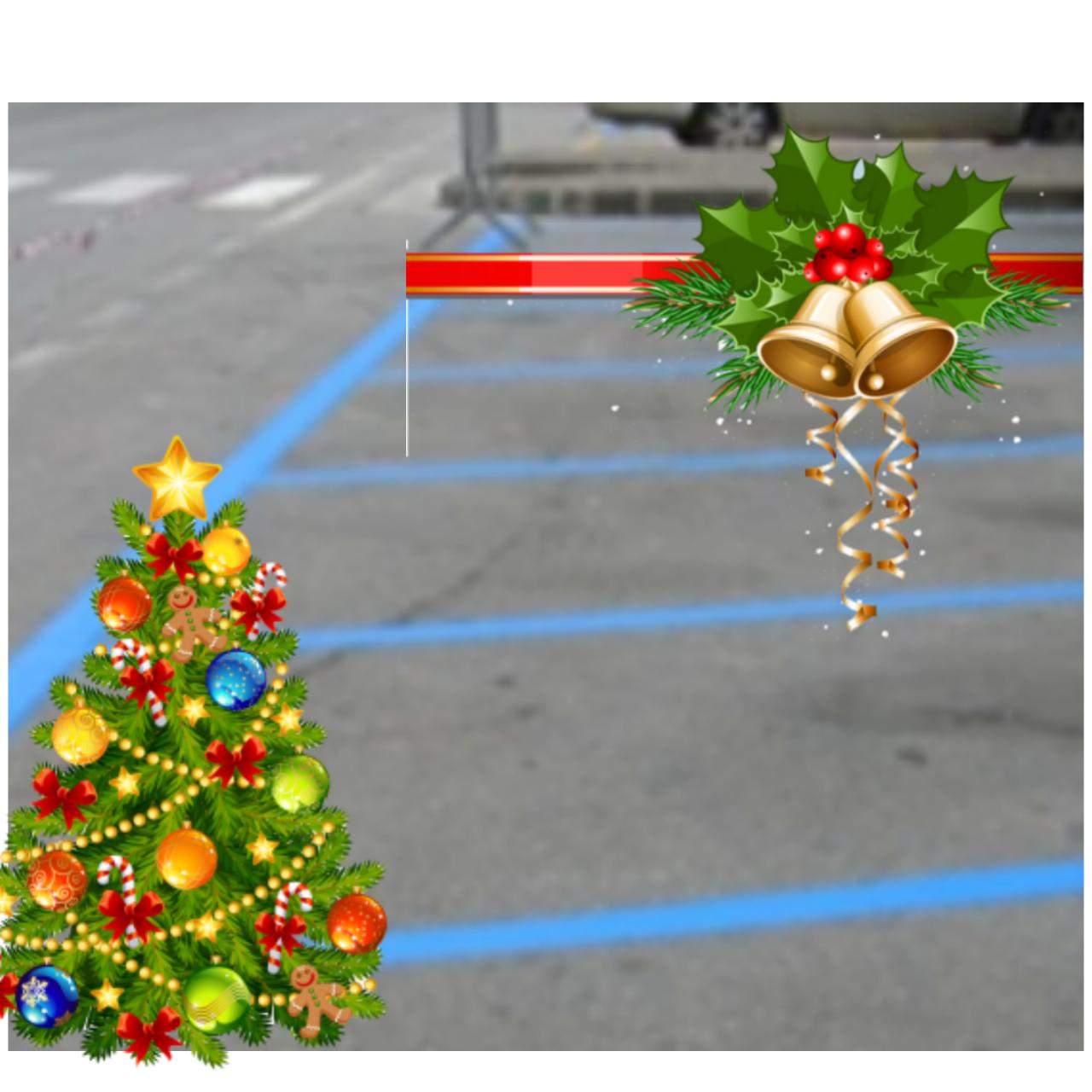 Sospensione sosta a pagamento nel periodo natalizio
