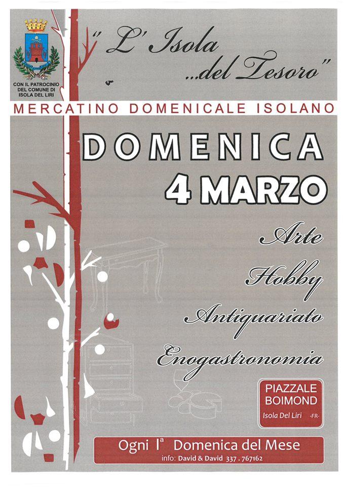 Mercatino mensile @ Isola del Liri | Isola del Liri | Lazio | Italia