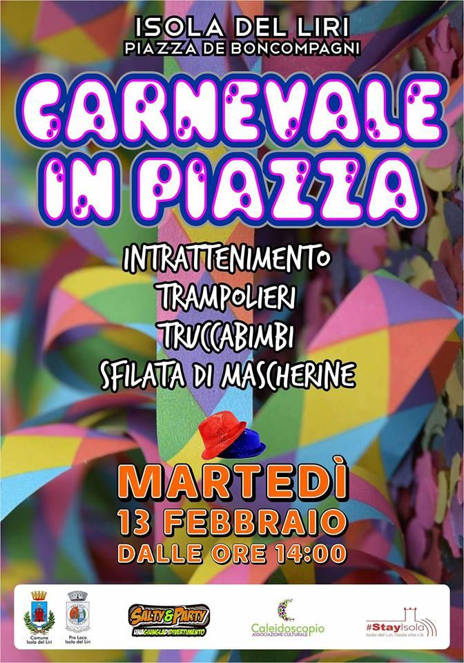 Carnevale in piazza @ Isola del Liri | Isola del Liri | Lazio | Italia
