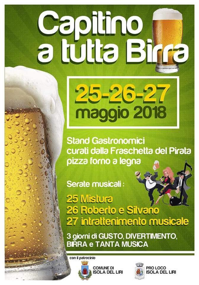 Capitino a tutta birra @ Isola del Liri | Isola del Liri | Lazio | Italia