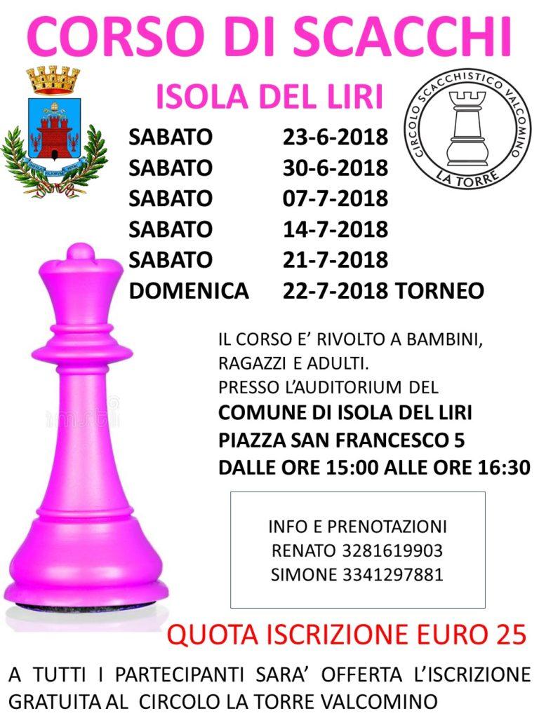 Corso di Scacchi @ Isola del Liri | Isola del Liri | Lazio | Italia