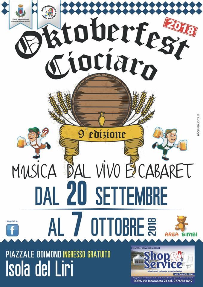 Oktoberfest Ciociaro 2018 @ Isola del Liri | Isola del Liri | Lazio | Italia