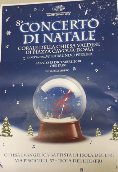 Concerto di Natale, Corale Chiesa Valdese @ Isola del Liri | Isola del Liri | Lazio | Italia