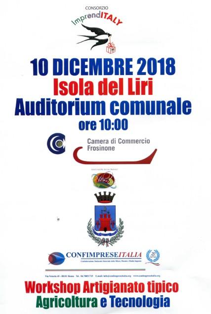 Workshop Artigianato tipico @ Isola del Liri | Isola del Liri | Lazio | Italia