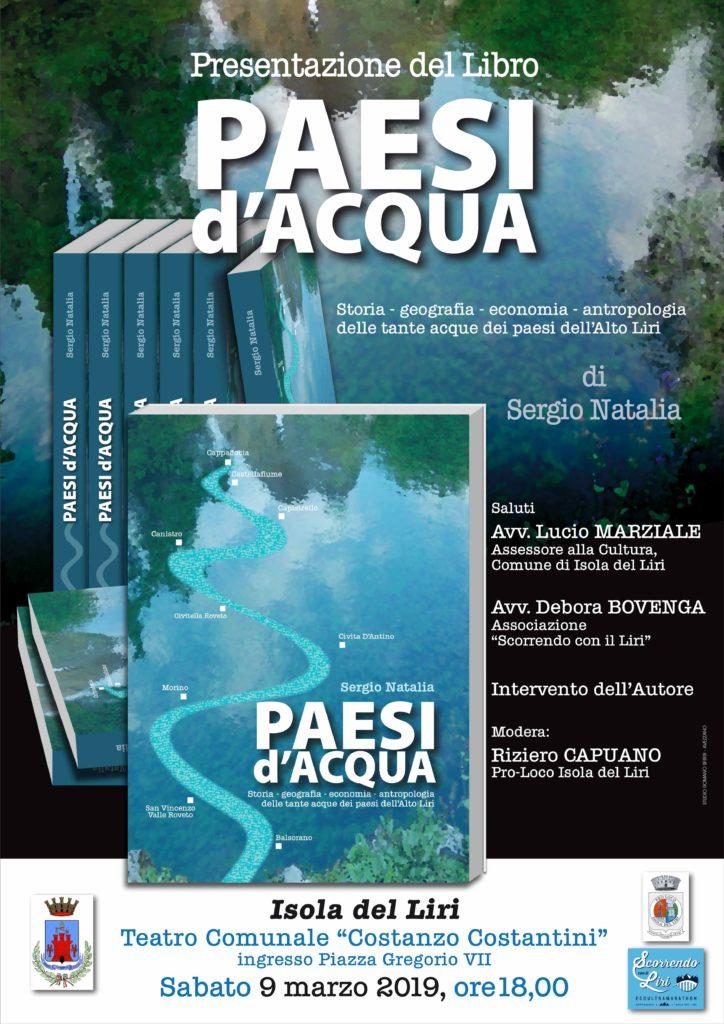 Presentazione del Libro PAESI d'ACQUA @ Isola del Liri   Isola del Liri   Lazio   Italia