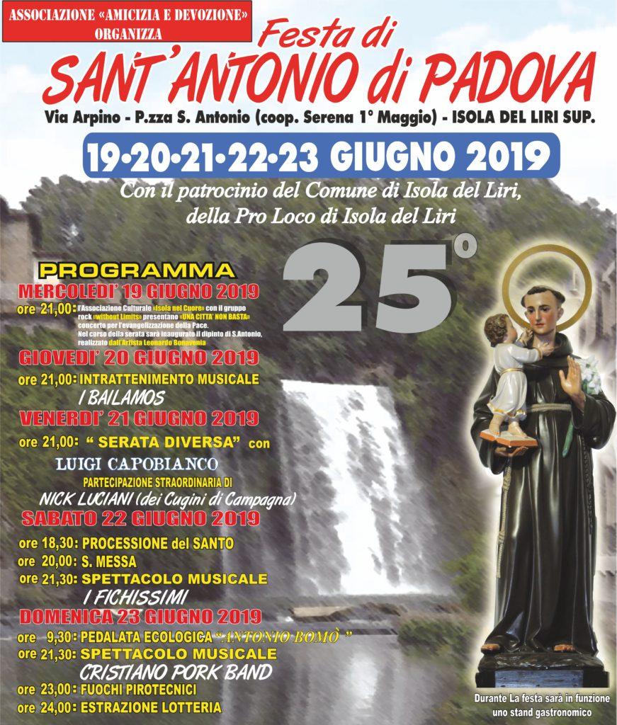 Festa s. Antonio di Padova - Isola superiore