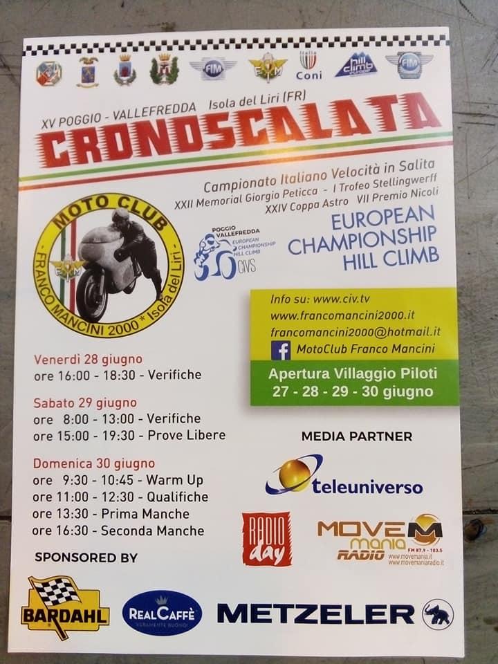 Cronoscalata Poggio-Vallefredda @ Isola del Liri | Isola del Liri | Lazio | Italia