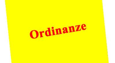 Proroga ordinanze comunali