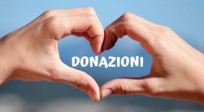 Donazioni, il tuo aiuto è prezioso