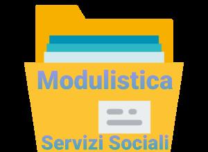 Servizi Sociali – modulistica e mail dedicata