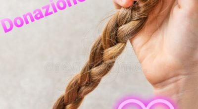 Cerimonia donazione trecce di capelli