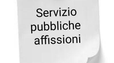 Pubbliche Affissioni
