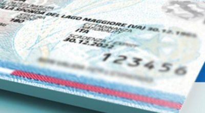 Proroga scadenza carte identità, al 31 dicembre 2020